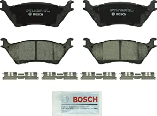 Bosch BC1602 QuietCast Premium Ceramic Disc Brake Pad Set For: Ford F-150, Rear