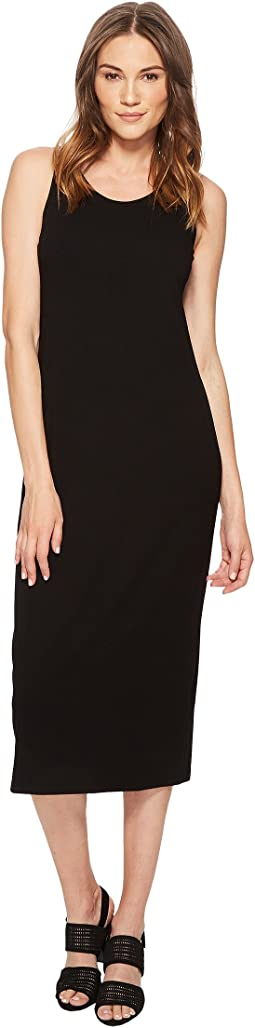 Scoop Neck F/L Dress