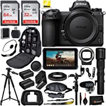 "Nikon Z6 Filmmaker's Kit (#13545) with 500mm Telephoto Lens, and T Mount Adapter w/Advanced Bundle; Includes: SanDisk 64GB Ultra Memory Card, 72"" Tripod, and More"