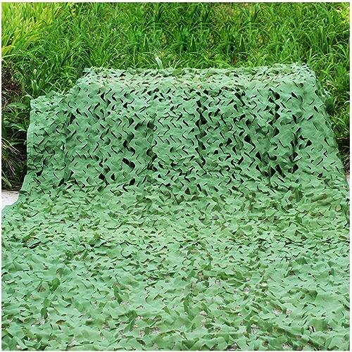 Filet de camouflage parasol multi-usage Mode multi-type Camouflage Mesh Polyester Tissu écran solaire Prougeection contre les poussières invisible Tente de tir Photographie Réseau Taille 6  6m (couleur