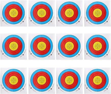 SunniY Strohmscheibe Bogenschie/ßen F/ür Bogenschie/ßen 55 cm Durchmesser Geeignet F/ür Bogenschie/ßen Oder Heimtextilien