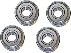 6201-Z Radial Ball Bearing Single Shielded Bore 12mm OD 32mm Width 10mm. Pack of 4