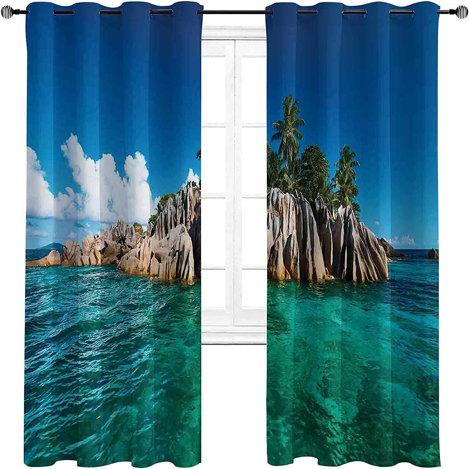 Island San Antonio Mall Bedroom Blackout Curtains Outlet ☆ Free Shipping St. at Pierre Seychelle