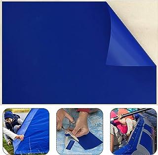 Syhood 49 x 34 Inch Vinyl Pool Liner Patch Repair Patch for Vinyl Swimming Pools Repair (Blue)
