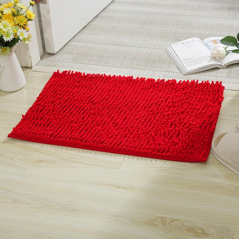 Household mats Toilets Bathroom mats Doormat Bathroom Non-Slip mats Door mats in The Hall Water-Absorbing mat at The Door-K 80x120cm(31x47inch)