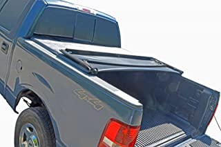 Tonneau Cover Soft Tri Fold for Ford F150 Pickup Truck Crew Cab 5.5ft Bed