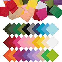 Nicunom 9600 Pcs 1 inch Tissue Paper Squares 30 Assorted Colors for Arts Paper Craft DIY Scrapbooking Scrunch Art Kids Craft DIY Projects Classroom Activities School Supplies