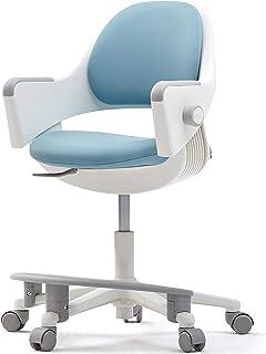 SIDIZ Ringo Kid Desk Chair (SNA509AV:Swivel Type): 4-Level Easy Adjustment for Perfect Support on Growing Child's Body, Si...