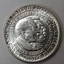 1951-1954 50c Uncirculated Washington-Carver Commemorative Half Dollar(Random Dates and Mint Marks)