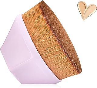 لوازم آرایشی و بهداشتی بنیاد-آرایش-برس صاف 10 ثانیه آرایش مناسب برای ترکیب مواد آرایشی و بهداشتی پودر مایع ، کرم یا بی نقص با مورد محافظ Bonus BS-456 (Pink