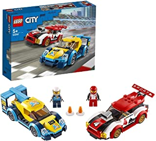LEGO 60256 City Nitro Wheels Racing Cars Toy with 2 Race Drivers Minifigures, Rally Vehicles for Kids 5+ Year Old