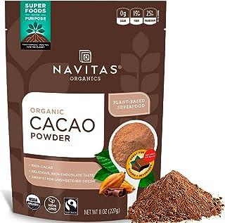 Navitas Organics Gluten-Free Cacao Powder, 8 oz