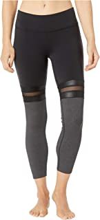 ALO 7/8 Player Leggings Black/Charcoal Heather