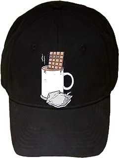 Hot Chocolate Candy Bar Bath Humor - 100% Adjustable Cap Hat