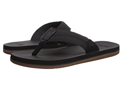 Quiksilver Coastal Oasis II (Black/Black/Brown 2) Men