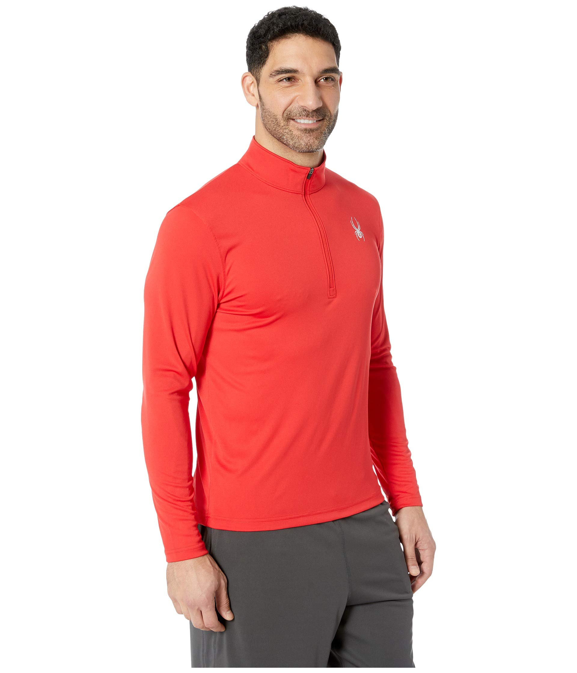 Red neck Limitless red Zip Spyder Solid T wZRzWaq