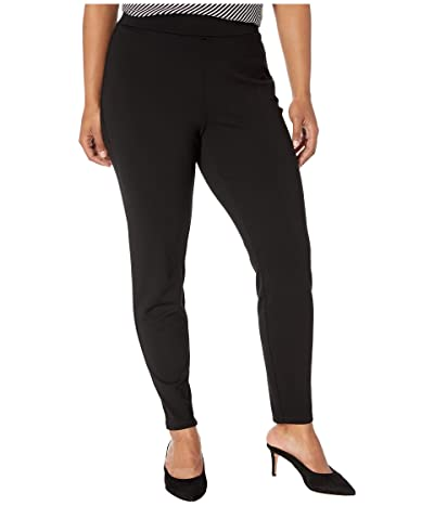 NYDJ Plus Size Plus Size Basic Leggings (Black) Women