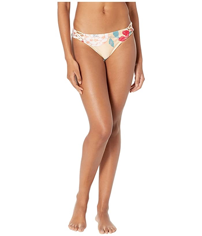 Roxy Riding Moon Full Bottoms (Ivory Cream New Flowers) Women