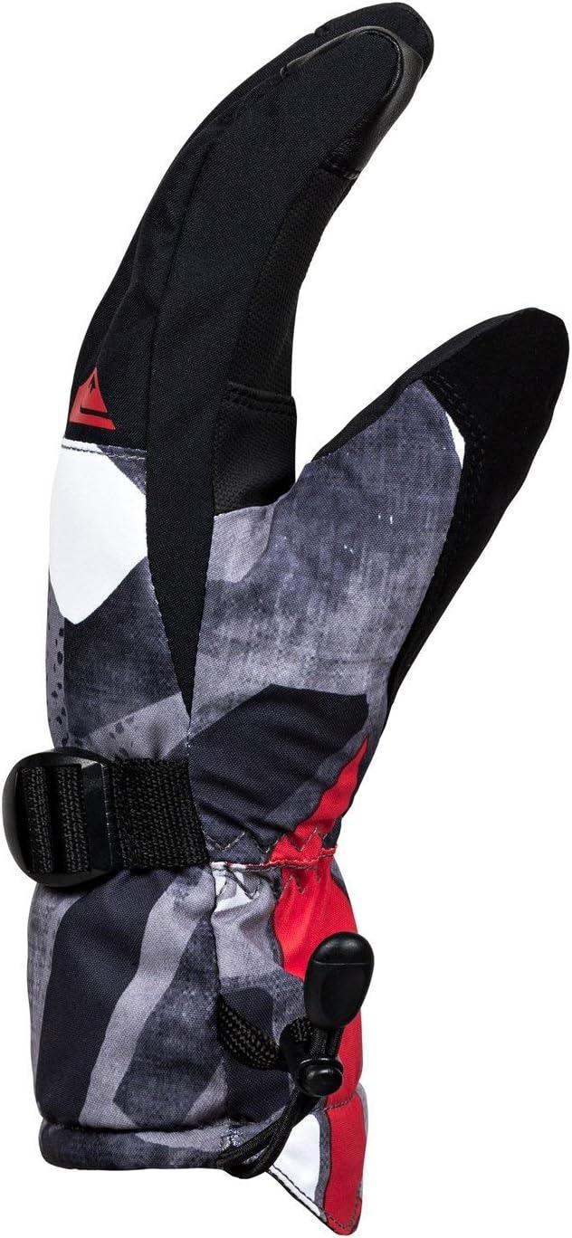 Quiksilver Mission-Gants de Ski//Snowboard pour Gar/çon 8-16 Ans