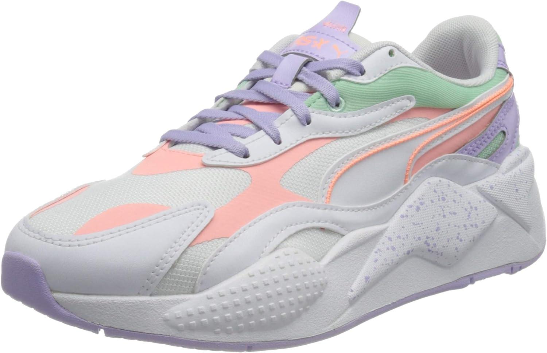 Puma Women's RS-X³ Pastel Mix White-Elektro S specialty shop Peach- WN Sneaker Max 57% OFF