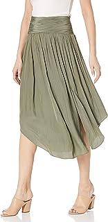Women's Jessy Midi Side Slit Kirt