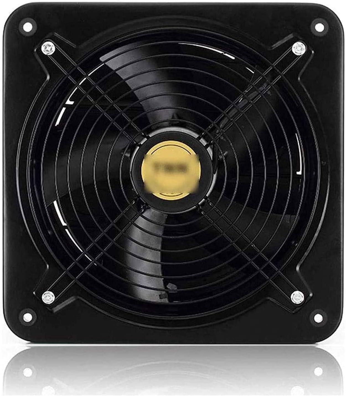YFGQBCP Ventilador de Escape 6 Pulgadas de 8 Pulgadas 10 Pulgadas 12 Pulgadas de Rotor Exterior conducto de Escape Ventilador ventilación ventilación Industrial (Size : 6 Inch)