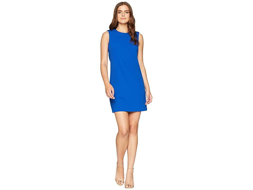 Calvin Klein Solid Sheath Dress CD8C16MU (Regatta) Women