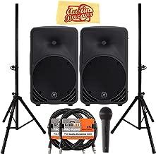 Best mackie 3 way powered speakers Reviews