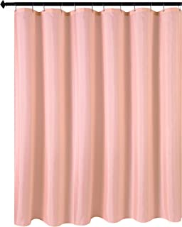 Biscaynebay Hotel Quality Fabric Shower Curtain Liners, Water Resistant Bathroom Curtains, Rust Resistant Grommets Top Wei...