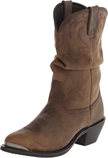 "Durango Women's RD542 Slouch 11"" Western Boot,Distressed"