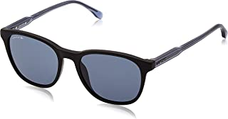 Lacoste L864S Sunglasses, Color: Matte Black, Size: 53 mm