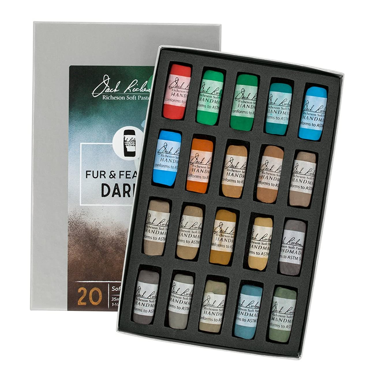 Jack Richeson 422955 Hand Rolled Soft Pastels