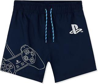 PlayStation Boys Swimming Trunks Gamer Boys Swimming Shorts Kids Teen Swimwear