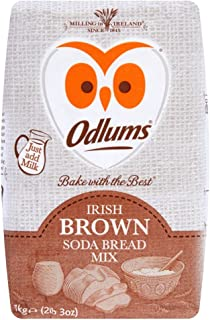 Odlums Irish Brown Soda Bread Mix Just add Milk 1kg Imported from Ireland