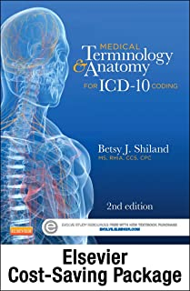 Medical Terminology Online for Medical Terminology & Anatomy for ICD-10 Coding (Access Code and Textbook Package)