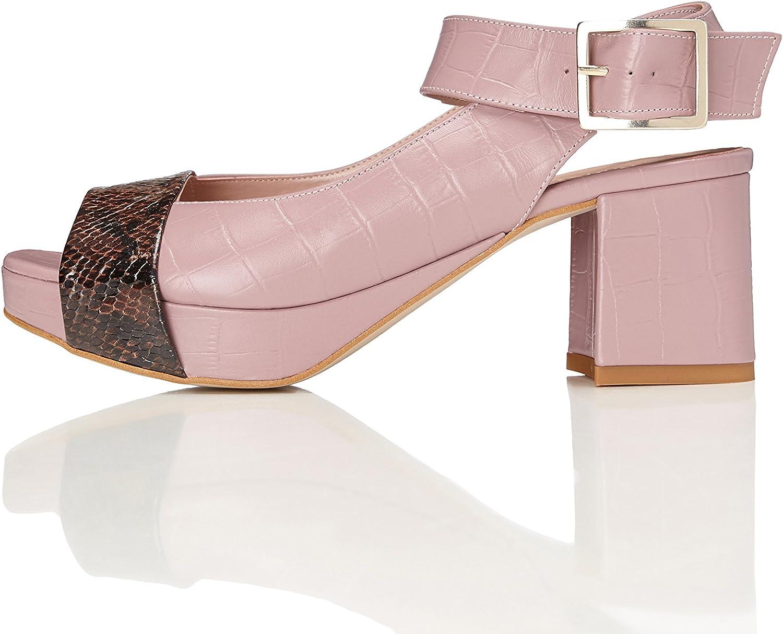 FIND Damen Sandalen aus aus aus Leder  47c8d4