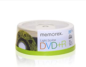 Memorex 16x DVD+R Light Scribe 20 Pack (32024708)