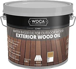 WOCA 617961A Exterior Öl, grau 2,5 L