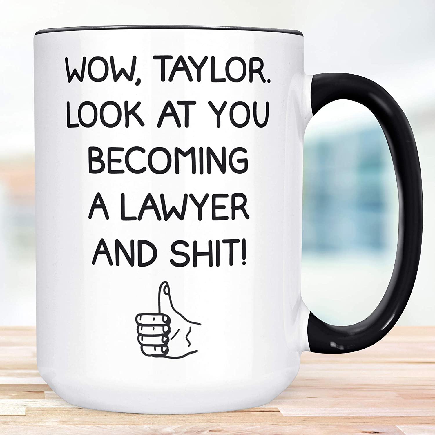 Funny Limited time cheap sale Lawyer Gift Look at You Popular popular Becoming Personal a