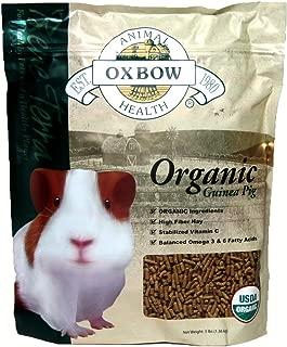 Oxbow Animal Health Guinea Pig Bene Terra Organic Food And Treats, 3-Pound