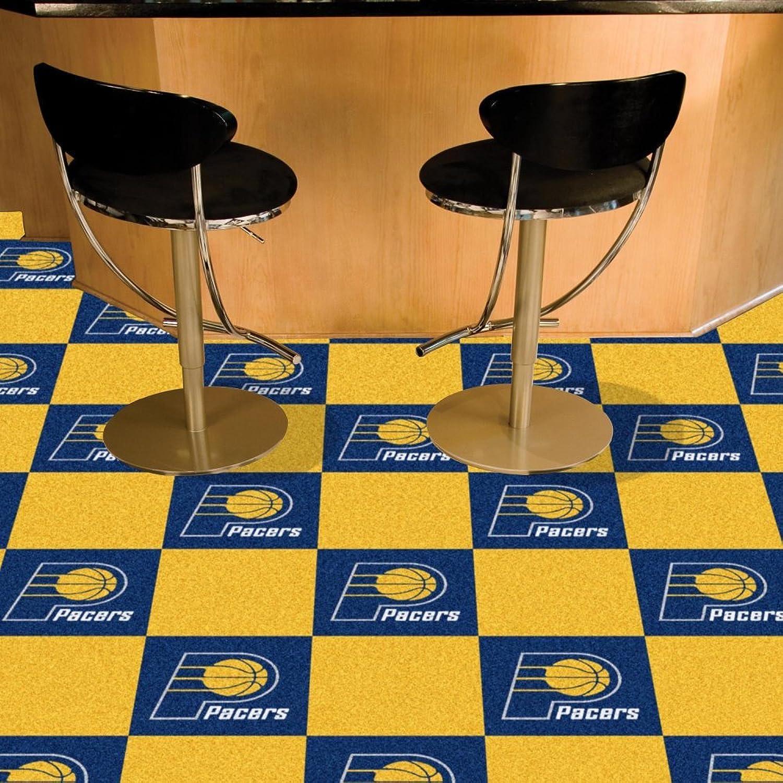 Fanmats Sports Team Logo Indiana Pacers Carpet Tiles 18 x18  tiles