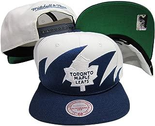 Mitchell & Ness Toronto Maple Leafs Snapback Adjustable Plastic Snap Back Hat/Cap