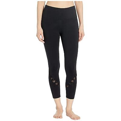 Bebe Sport Sport Crisscross Pants (Black) Women