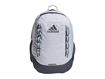 adidas Excel V Backpack (Jersey White/Onix/Sky Tint) Backpack Bags