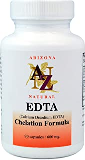 EDTA (Calcium Disodium), Dietary Supplement, 600 Mg, 100 Capsules
