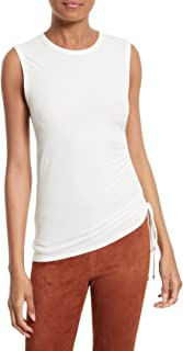 Theory Women's Rimaeya Knit Tank White Petite