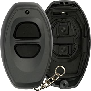 KeylessOption Just the Case Key Fob Keyless Entry Remote Shell Button Pad