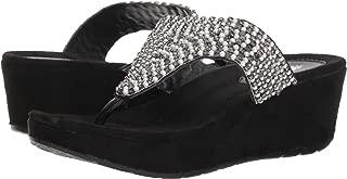 Womens Affection Sandals,Black,7