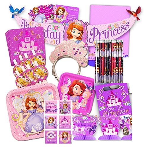 Cool Sofia The First Party Decorations Amazon Com Download Free Architecture Designs Meptaeticmadebymaigaardcom