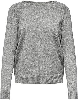ONLY Damen Feinstrick-Pullover ONLLesly Kings Leichter Damen-Pullover